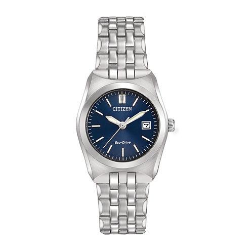 Citizen® Eco-Drive® Corso Womens Stainless Steel Bracelet Watch EW2290-54L