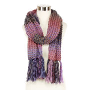 Mixit™ Marled Rugby Scarf