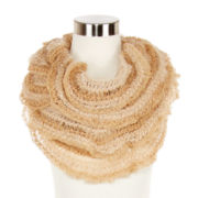 Mixit™ Feather Sequin Loop Scarf
