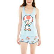 Nintendo® Toad Tank Top and Boxer Pajama Set