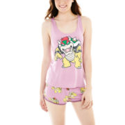 Nintendo® Bowser Tank Top and Boxer Pajama Set