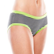 St. Eve Striped Hipster Panties