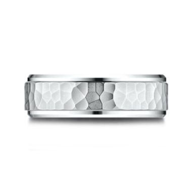 jcpenney.com |  Mens 10K White Gold 8mm Band