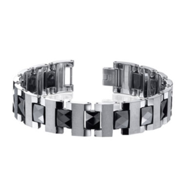 jcpenney.com | Mens Tungsten and Ceramic Bracelet