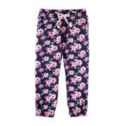 OshKosh B'gosh® Floral Jogger Pants - Preschool Girls 4-6x
