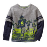 OshKosh B'gosh® Football Graphic Tee - Preschool Boys 4-7