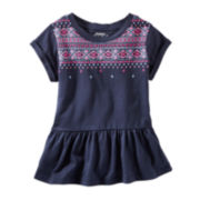 OshKosh B'gosh® Peplum Tunic - Toddler Girls 2t-5t