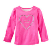 OshKosh B'gosh® Follow Your Heart Top  - Toddler Girls 2t-5t