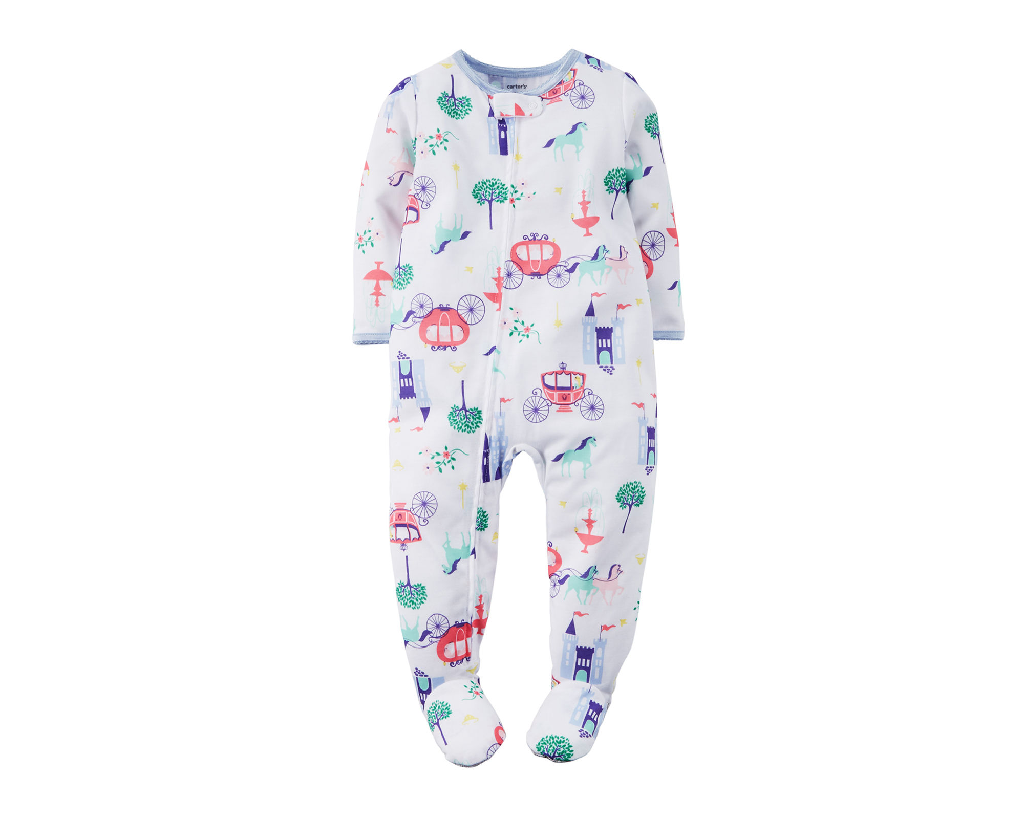 UPC 888510803065 - Carter's Fairy Tale-Print Footed Pajamas ...