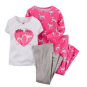 Carter's® 4-pc. Dalmatian Pajama Set - Girls 4-8