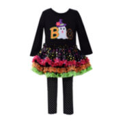 Bonnie Jean® Halloween Top and Leggings - Preschool Girls 4-6x