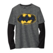 Batman Logo Graphic Tee - Boys 8-20