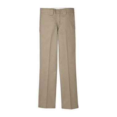 jcpenney.com | Dickies® Slim Straight Leg Twill Pants - Boys 8-20