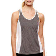 Xersion™ Mesh-Inset Strappy Tank Top