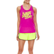 Xersion™ Graphic Tank Top, Sports Bra or Woven Running Shorts