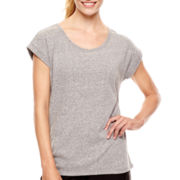 Xersion™ Short-Sleeve Oversized Lounge T-Shirt - Tall
