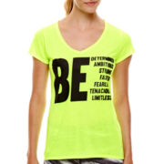 Xersion™ Short-Sleeve High-Low Graphic T-Shirt
