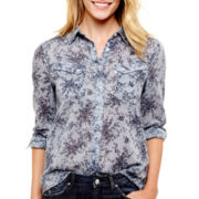 Levi's® Long-Sleeve Floral Print Shirt