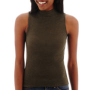 Arizona Sleeveless Mockneck Top