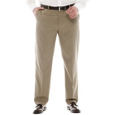 jcpenney.com | Van Heusen® Ultimate Traveler Mélange Flat-Front Pants - Big & Tall