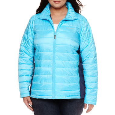 jcpenney.com | Columbia® Frosted Ice™ Hybrid-Quilted Jacket - Plus