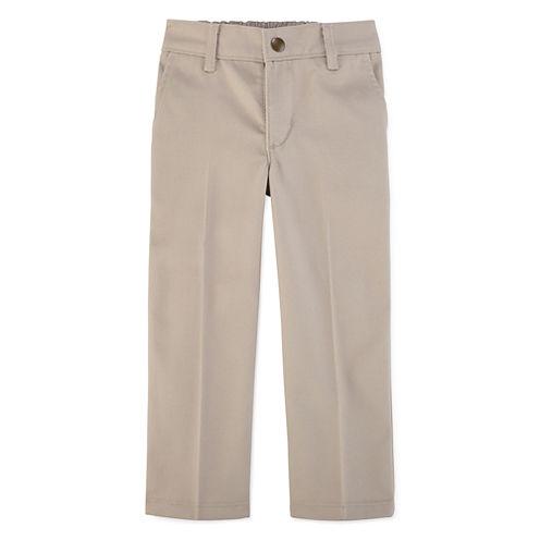 IZOD® Flat-Front Pants – Toddler Boys 2t-4t