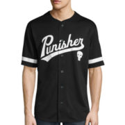 Marvel® Short-Sleeve Punisher Baseball Jersey