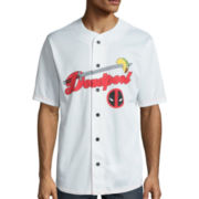 Deadpool Short-Sleeve Baseball Jersey