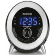 Memorex™ MC3533 GloTIME Bluetooth Wireless Clock Radio