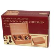 Stauton Wood Chessmen--3.0 King