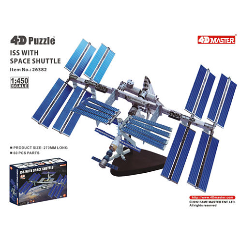 4D-Puzzle International Space Station 10.25""