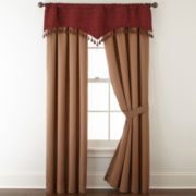 Royal Velvet® Malaga 2-Pack Rod-Pocket Lined Curtain Panels