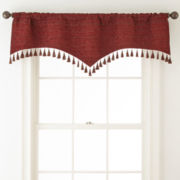 Royal Velvet® Malaga Rod-Pocket Lined Valance