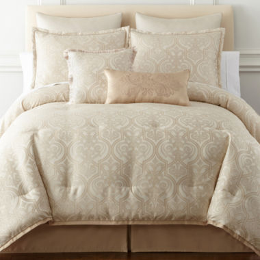 jcpenney.com | Royal Velvet® Palladio 8-pc. Comforter Set & Accessories