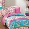 Dream Factory Peace & Love Comforter Set