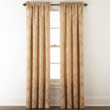 jcpenney.com | Home Expressions™ Sevilla Rod-Pocket Curtain Panel