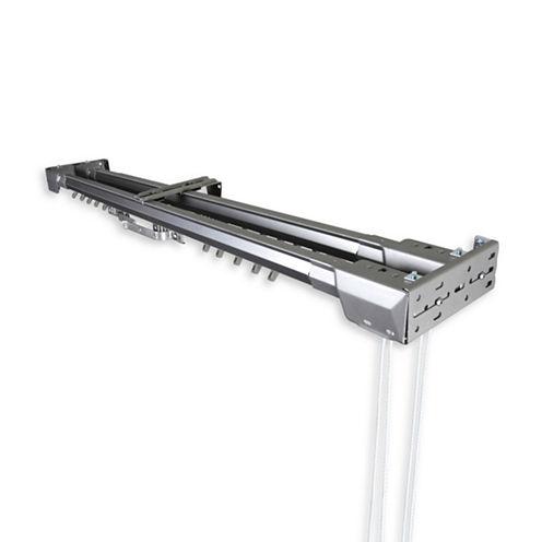 Rod Desyne Center Open Double Traverse Adjustable Curtain Rod