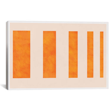jcpenney.com | Orange Levies by 5By5Collective Canvas Wall Art