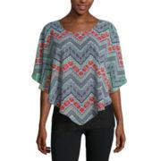 Alyx® Poncho-Sleeve Popover Top