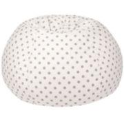 Cotton Dot Beanbag