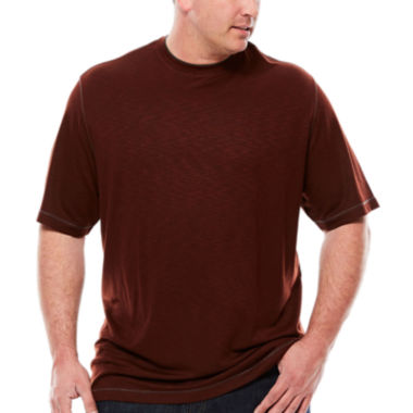 jcpenney.com | Van Heusen® Short-Sleeve Two-Tone Tee - Big & Tall