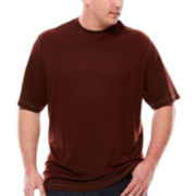 Van Heusen® Short-Sleeve Two-Tone Tee - Big & Tall