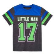 Okie Dokie® Toddler Short-Sleeve Football Tee -Toddler Boys 2t-5t