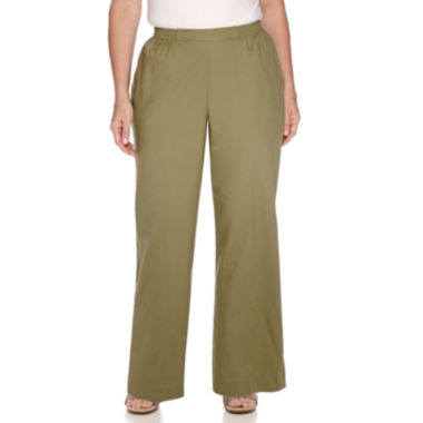 jcpenney.com | Alfred Dunner® Cyprus Pull-On Cropped Pants- Plus