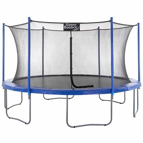 Upper Bounce 15ft Trampoline & Enclosure Set
