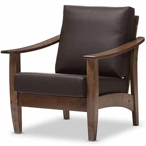 Baxton Studio Pierce Club Chair
