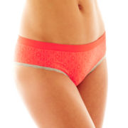 Flirtitude® Seamless Cheeky Hipster Panties