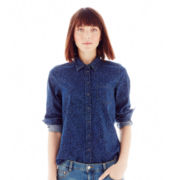 Joe Fresh™ Print Denim Shirt