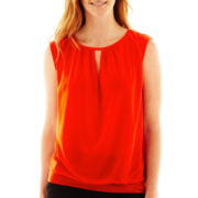 Worthington® Cutout-Neck Top