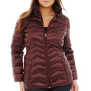 a.n.a® Packable Down Quilted Jacket - Plus